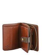 Preloved Louis Vuitton Zip Wallet Monogram Brand connection Brown louis vuitton 321-vue-porte