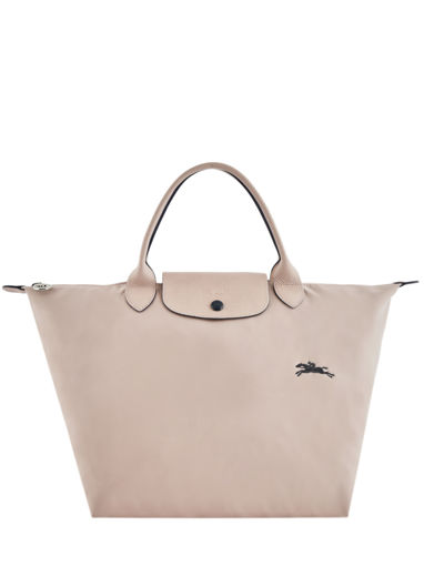 Longchamp Le pliage club Handbag Beige