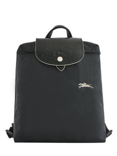 Longchamp Le pliage club Backpack Black