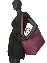 Travel Bag L.12.12 Concept Lacoste Red l.12.12 concept NF1947PO-vue-porte