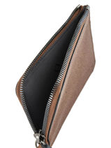 Wallet Leather Hexagona Brown dandy 207772-vue-porte
