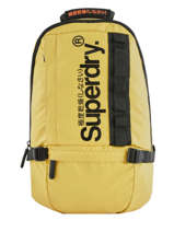 Backpack 1 Compartment + 15'' Pc Superdry Yellow backpack men M9100023