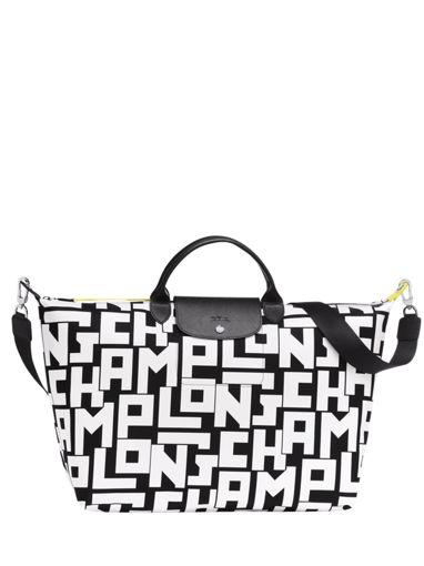 Longchamp Le pliage lgp Sacs de voyage Blanc