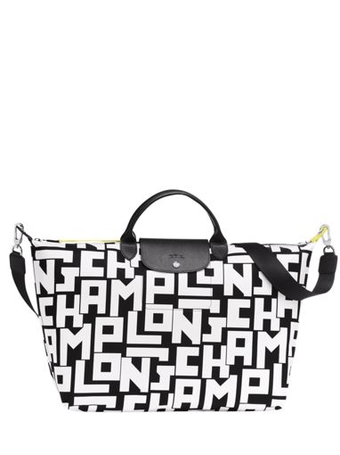 Longchamp Le pliage lgp Travel bag White