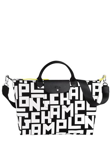 Longchamp Le pliage lgp Sacs porté main Blanc