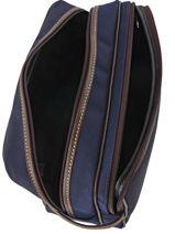 Longchamp Boxford Toiletry case Blue-vue-porte