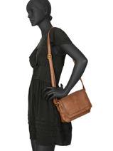 Messenger Bag Marceau Miniprix Brown joy 6183-vue-porte