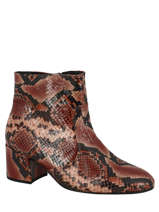 Bottines en cuir-GABOR