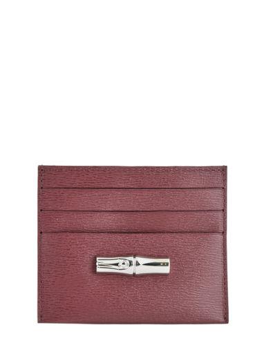 Longchamp Roseau Bill case / card case Black