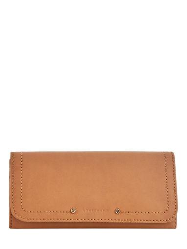 Longchamp Cavalcade Wallet Brown