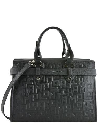 Longchamp La voyageuse lgp Handbag Black