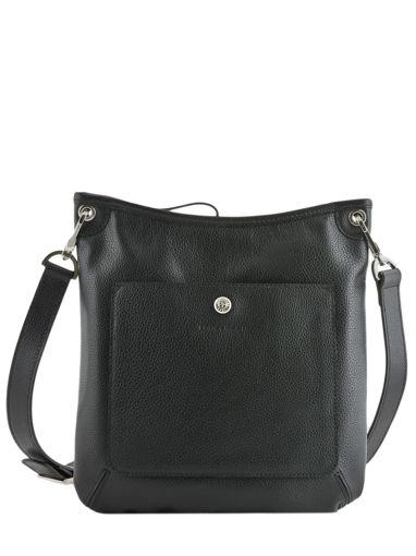Longchamp Le foulonné Sacs porté travers Noir
