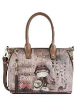 Sac Shopping A4 Egypte Anekke Marron egypte 29891-03
