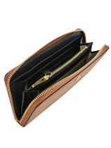 Leather Zip Wallet Dryden Lauren ralph lauren Brown dryden 32754176-vue-porte