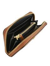 Small Leather Zip Wallet Dryden Lauren ralph lauren Brown dryden 32754175-vue-porte