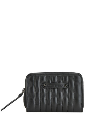 Longchamp Amazone matelassÉ Coin purse Black