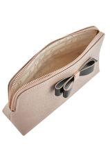 Trousse Bow Detail Ted baker Beige bow detail ELOIS-vue-porte