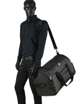 Travel Bag Road Trip Serge blanco Black road trip RTR14023-vue-porte