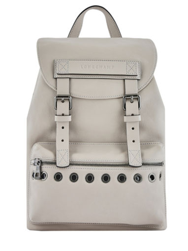 Longchamp Longchamp 3d rock Backpack Beige