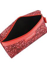 Longchamp Le pliage fleurs Pochettes Rouge-vue-porte