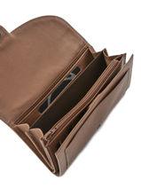 Purse Leather Etrier Brown blanco 600700-vue-porte