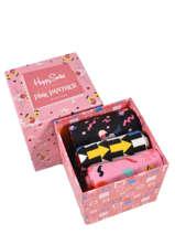 Pink panther socks 3 pairs-HAPPY SOCKS