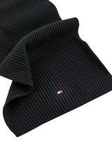 Scarf Tommy hilfiger Black accessoires AM05163-vue-porte