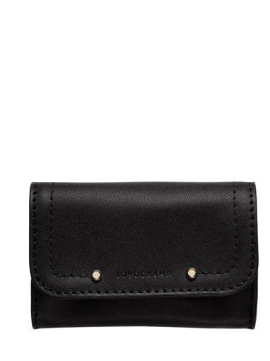 Longchamp Cavalcade Porte-monnaie Noir