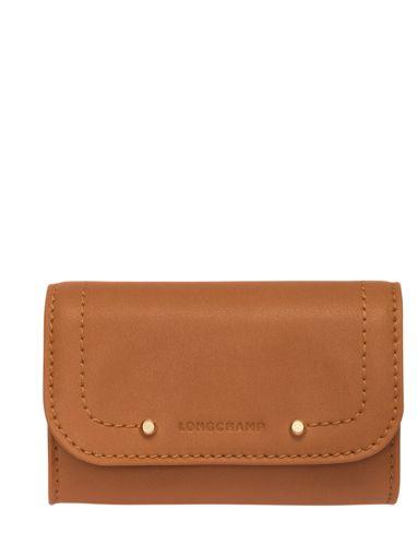 Longchamp Cavalcade Coin purse Brown