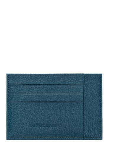 Longchamp Le foulonné Porte billets/cartes Marron