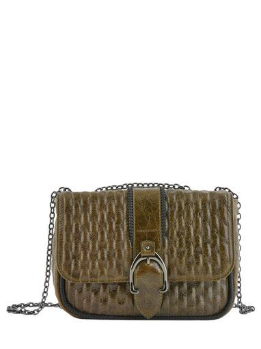 Longchamp Amazone matelassÉ craquelÉ Hobo bag Green