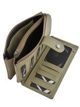 Purse Leather Etrier Green blanco 600907-vue-porte