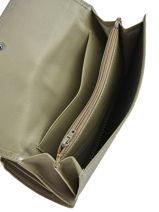 Continental Wallet Leather Etrier Green blanco 600903-vue-porte