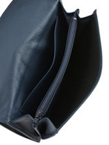 Continental Wallet Leather Etrier Blue blanco 600903-vue-porte