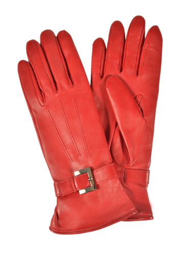 Longchamp Gants homme Gants Rouge
