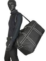 Large Travel Bag Evasion Miniprix Black evasion PND70-vue-porte