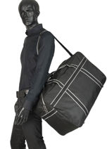 Medium Travel Bag Evasion Miniprix Black evasion PND60-vue-porte