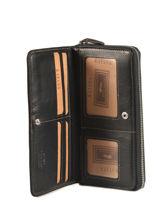 Continental Wallet Leather Katana Blue basile 853128-vue-porte