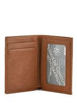 Leather Card Holder Bart Arthur et aston Brown bart 1978-100-vue-porte