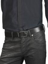 Ceinture Ajustable Clips Redskins Noir belt CLIPS-vue-porte