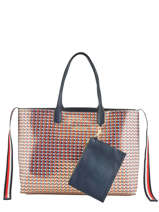 Sac Cabas  A4 Iconic Tommy Tommy hilfiger Noir iconic tommy AW07425
