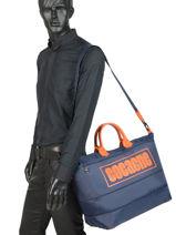 Longchamp Cocagne Sacs de voyage Bleu-vue-porte