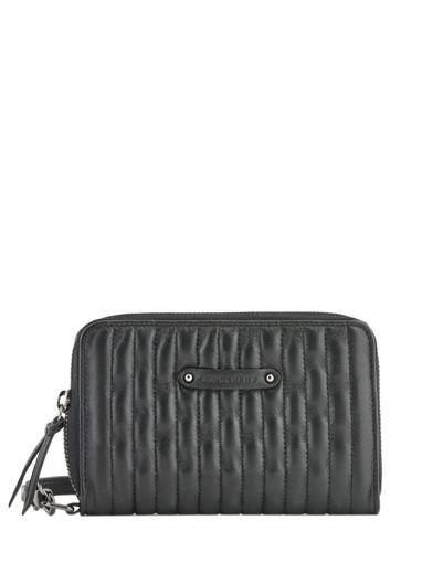 Longchamp Amazone matelassÉ Portefeuilles Noir