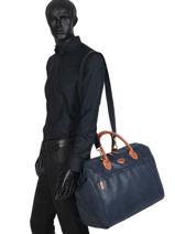 Carry-on Travel Bag Uppsala Jump Blue 4462NU-vue-porte