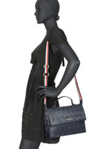 Sac   Cartable Tommy Party Tommy hilfiger Bleu tommy party AW08152-vue-porte