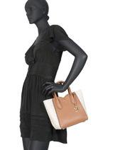 Leather Satchel Mae Michael kors Black mae H9GM5M5B-vue-porte