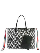 Tote Bag Iconic Tommy Tommy hilfiger Black iconic tommy AW07834