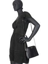 Leather Crossbody Bag Susan Michael kors Black susan H9ST9C3T-vue-porte