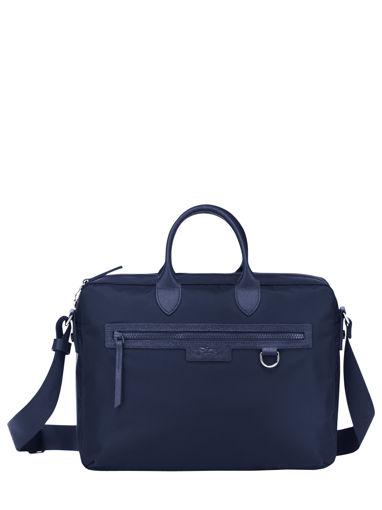 Longchamp Le pliage neo Serviette Bleu