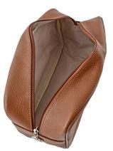 Longchamp Le foulonné Toiletry case Brown-vue-porte
